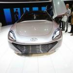 Hyundai I-Oniq in der Frontansicht