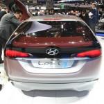 Das Heck des Concept cars Hyundai I-Oniq