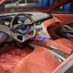 Der Innenraum der Hyundai-Studie I-Oniq