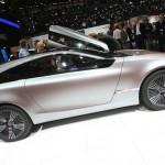 Der Studie Hyundai I-Oniq in der Seitenansicht