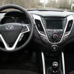 Das Cockpit des neuen Hyundai Veloster