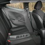 Hyundai Veloster - Hier nehmen die Fondpassagiere Platz