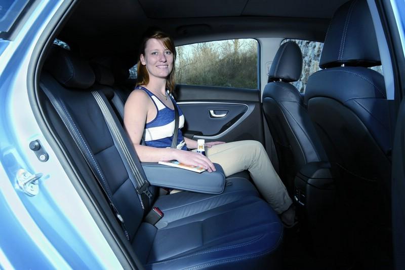 Mehr Kopf-, Bein- und Schulterfreiheit im neuen Hyundai i30