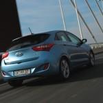 Der neue Hyundai i30 von hinten (Heckansicht)