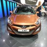 Hyundai i30cw in der Frontansicht