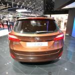 Das Heck des neuen Hyundai i30cw