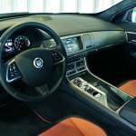 Das Cockpit des 510 starken Jaguar XFR