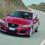 Dr Jaguar XFR in der Frontansicht