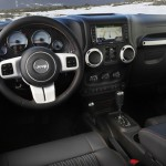 Das Armaturenbrett des Sondermodells Jeep Wrangler Arctic