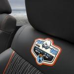 Die Sitze des Sondermodells Jeep Wrangler Arctic