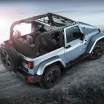 Der Jeep Wrangler Arctic geöffnet - Sondermodelle