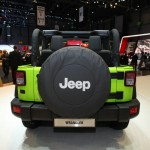 Der Jeep Wrangler Mountain in der Heckansicht (Genf 2012)