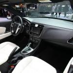 Der Innenraum des Lancia Flavia Cabriolet - Genf 2012