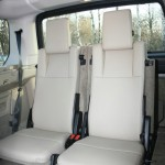 Die Einzelsitze im Land Rover Discovery 3.0 TDV6 SE