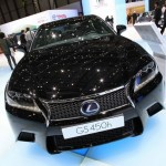 Die Frontpartie des Lexus GS 450h