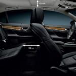 Der Innenraum des neuen Lexus GS bietet mehr Platz