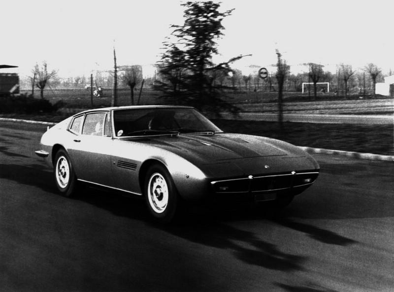 Der Maserati Ghibli aus dem Jahr 1966