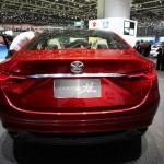 Der Mazda Takeri Concept in der Heckansicht