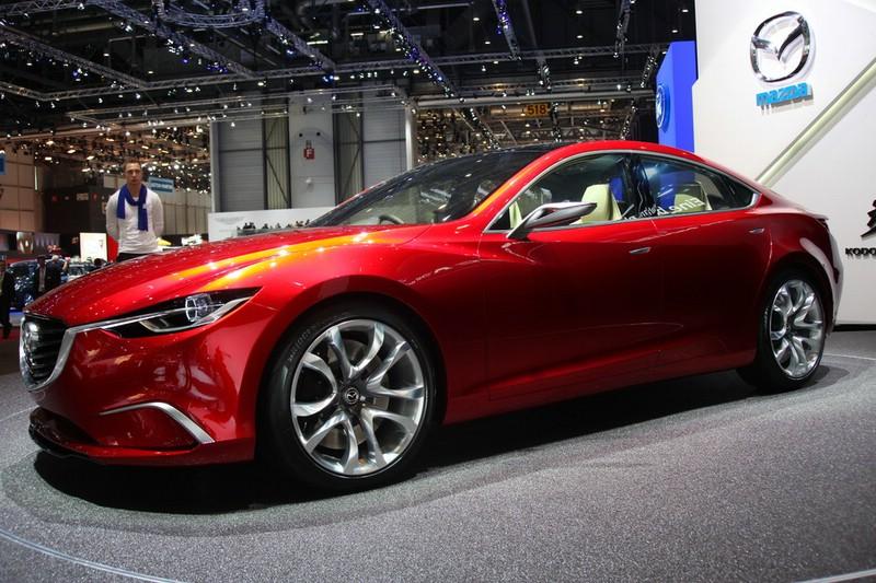 Mazda Takeri Concept auf dem Genfer Autosalon 2012