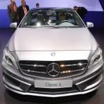 Die Frontpartie der Mercedes-Benz A-Klasse