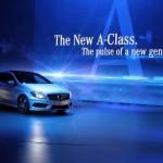 Die Mercedes-Benz A-Klasse zeigt sich auf dem Genfer Autosalon 2012