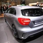 2012-er Mercedes-Benz A-Klasse in der Heckansicht