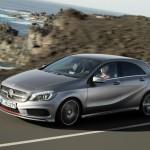 Der Mercedes-Benz A-Klasse Sport in der Seitenansicht