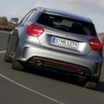 Der Mercedes-Benz A-Klasse Sport von AMG in der Heckansicht