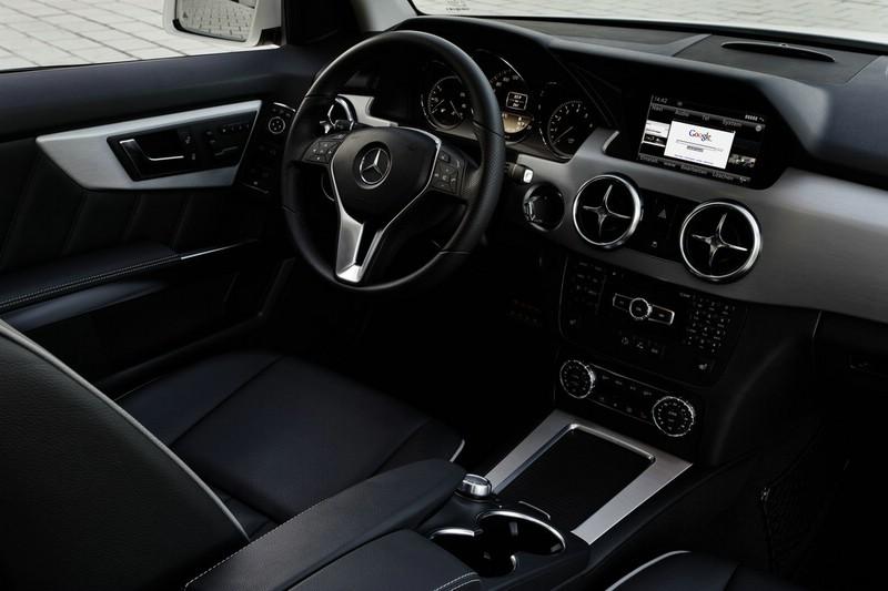 Galerie: Mercedes-Benz GLK Interieur | Bilder und Fotos