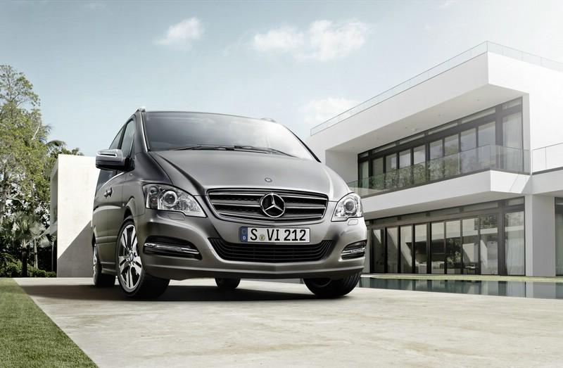 Mercedes-Benz bringt im Sommer den Limited Edition Viano Pearl