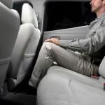 Das Platzangebot im Fond des Nissan Leaf überzeugt