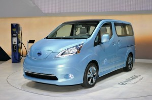 Nissan e-NV 200 auf dem Genfer Autosalon 2012