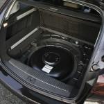 Der Gastank im Opel Astra 1.4 LPG Sports Tourer