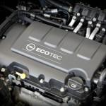 Der Motor des Opel Astra 1.4 LPG Sports Tourer