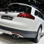Irmscher zeigt auf dem Genfer Autosalon den aufgemotzten Opel Insignia ST