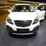 Die Frontansicht des neuen Opel Mokka