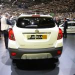 Das Heck des neuen SUV Opel Mokka