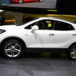 Der Opel Mokka in der Seitenansicht - Genf 2012
