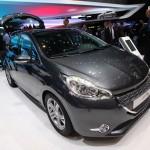 Peugeots Kleinwagen 208 auf der Automesse Genf 2012