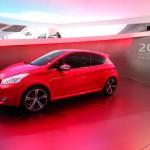 Peugeot 208 GTi Concept auf dem Genfer Automobilsalon 2012