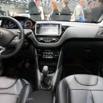 Peugeots neuer 208 in der Innenansicht - Genfer Autosalon 2012