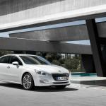 Der Peugeot 508 als Limousien (Weiss)