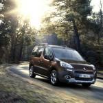 Der neue Peugeot Partner Tepee (Fahraufnahme)