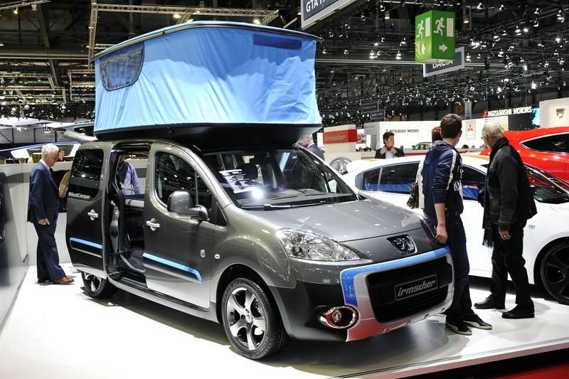 Irmscher präsentiert auf dem Genfer Autosalon 2012 den Peugeot Partner Urban Activity