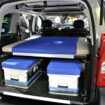 Irmscher-Version des Peugeot Partner Urban Activity auf dem Genfer Autosalon 2012