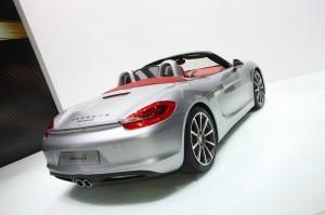 Porsche Boxster Modell 2012 auf der Genfer Messe