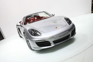 Porsche zeigt den neuen Boxster auf der Automesse in Genf