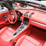 Der Innenraum des neuen Porsche Boxster