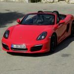 2012-er Porsche Boxster S - Sportwagen mit Leichtbaumaterialien