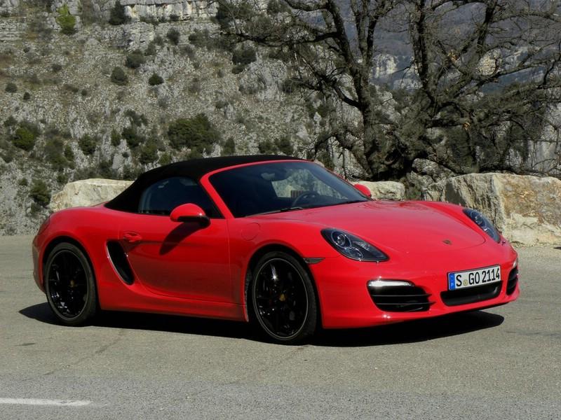 Porsche stellt den neunen Boxster S vor